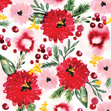 Christmas Floral III Prints by Berrenson Sara