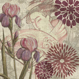 Grace of Geisha II Print by Audrey Charlene