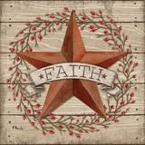 Faith Star Prints by Brent Paul