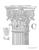 Gray Column C Prints by Gwendolyn Babbitt