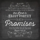 Chalkboard Promise Prints by Berndt Bethany