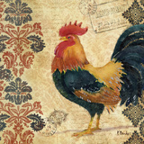 Gourmet Rooster II Prints by Brent Paul