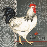 French Rooster I Print by Gwendolyn Babbitt