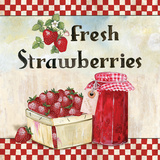 Fresh Strawberries Prints by Gorham Gregory