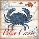 Blue Crab Prints by Todd Williams