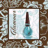Fashion Blue Glamour Prints by Gregory Gorham