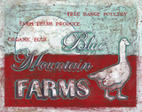 Blue Mountain Farms Prints by Jones Catherine