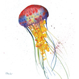 Deep Sea Jellies I Posters by Brent Paul