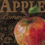 French Fruit Apple Plakat af Todd Williams