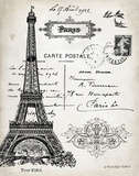 French Landmark I Art by Babbitt Gwendolyn