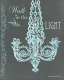 Chandelier Light I Póster por Gwendolyn Babbitt