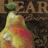 French Fruit Pear Posters by Todd Williams