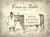Farm to Table Prints by Babbitt Gwendolyn