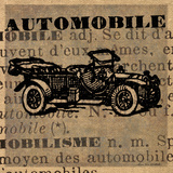 Automobile Posters by Ven Vertloh Lisa