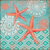 Coral Cove Shells II Prints by Brent Paul