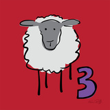 Counting Sheep 3 Posters by Kris Ruff