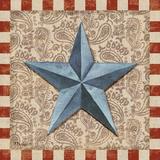 American Barn Star II Print by Paul Brent