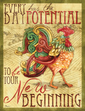 Daybreak Rooster I Prints by Brent Paul