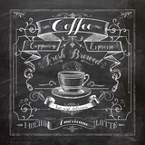 Chalkboard Coffee Prints by Washburn Lynnea