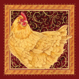 Country Hen I Prints by Gwendolyn Babbitt