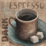 Blue Specialty Coffee II Prints by Williams Todd