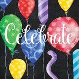 Celebration Balloons I Posters by Paul Brent
