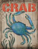 Crab Posters by Todd Williams