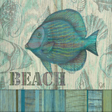 Beach Poster by Charlene Audrey