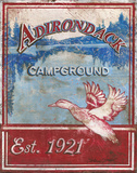 Adirondack Camp Prints by Jones Catherine