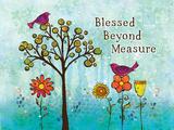 Blessed Lámina por BJ Lantz
