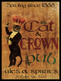 Cat & Crown Pub Affischer av Giacopelli Jason