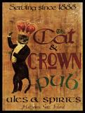 Cat & Crown Pub Prints by Jason Giacopelli