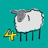 Counting Sheep 4 Art par Ruff Kris
