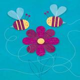 Bees Posters by Mack Steve