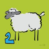 Counting Sheep 2 Affiches par Ruff Kris