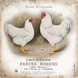 Chicken Pair I Stampe di Babbitt Gwendolyn