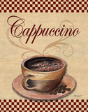 Cafe Cappuccino Prints by Williams Todd