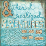 Adventures Plakat autor Martin Monica