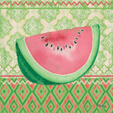 Fruit Ikat II Poster by Brent Paul