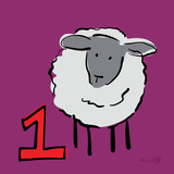Counting Sheep 1 Posters by Kris Ruff