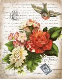 French Botanical I Poster by Babbitt Gwendolyn