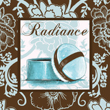 Fashion Blue Radiance Posters by Gregory Gorham