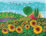 Fields of Sunflowers Posters by Portka Lori
