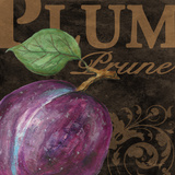 French Fruit Plum Prints by Todd Williams
