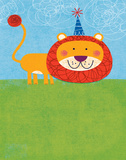 Birthday Lion Pósters por Mack Steve