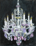 Chandelier II Prints by Palanuk-Wilson Denice