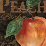 French Fruit Peach Plakater af Todd Williams