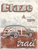 Blaze Prints by Catherine Jones