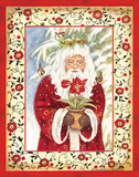 Father Christmas Poster by Gwendolyn Babbitt