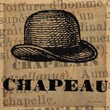 Chapeau Poster von Lisa Ven Vertloh